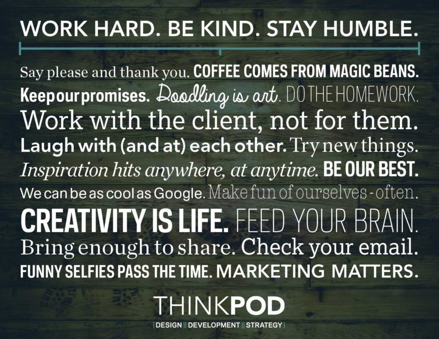 ThinkPod Agency, Website Design, Marketing, South Bend, Mishawaka